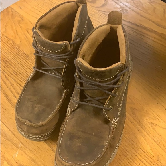 Ariat Shoes   Justin Chukka Steel Toe